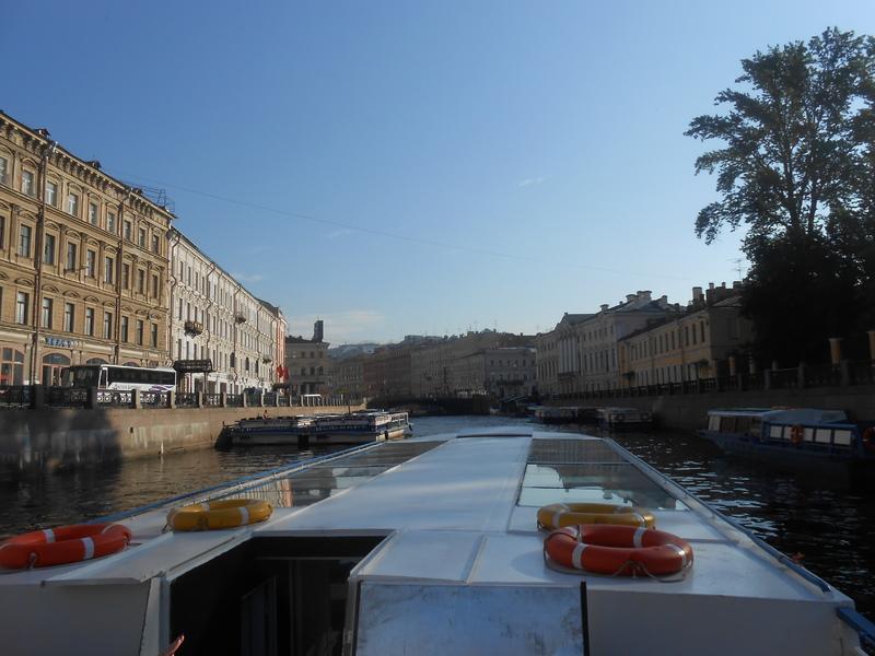St. Petersburg canals. - Emerald Princess