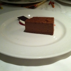 Chocolate-peanut butter dessert, Royal Palace