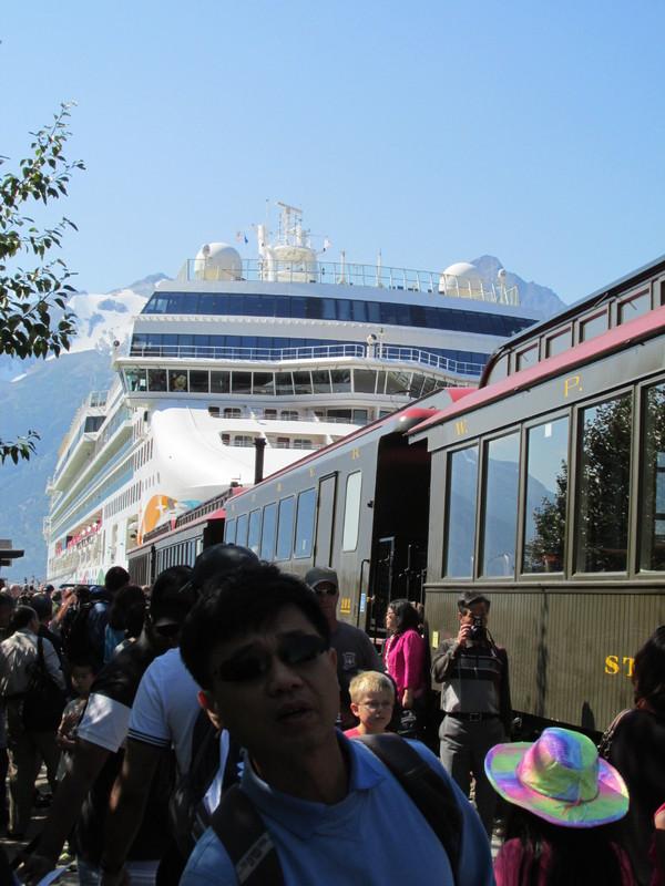 Photo Of Norwegian Pearl Cruise On Aug 11 2013 Railway And Norwegian
