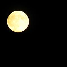 Moon over Montenegro