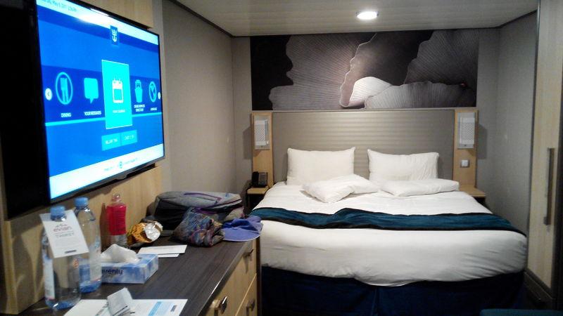 Inside cabin 8101 on harmony of the seas category 6q - Harmony of the seas interior rooms ...
