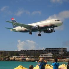Philipsburg, St. Maarten - US Airways A320