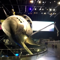 Atlantis at the Kennedy Space Center