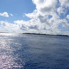 Heading to Cococay