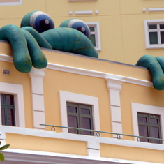 Senor Frog on Building San Juan