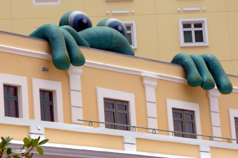 Senor Frog on Building San Juan - Carnival Liberty