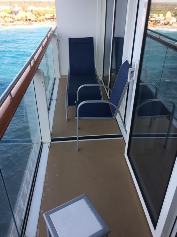 Balcony Cabin 12886 On Norwegian Getaway Category B4