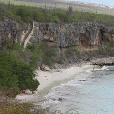 99 steps Bonaire