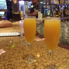 $1 Mimosa's for Breakfast in the Casino
