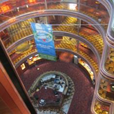 Elation Atrium on Carnival Elation