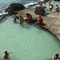 Xcaret Park off Cozumel, Mexico