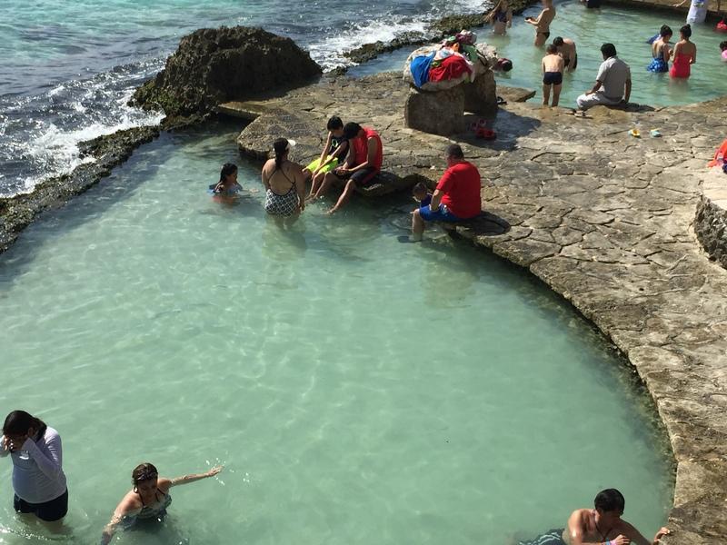 Xcaret Park off Cozumel, Mexico - MSC Divina