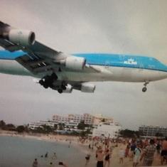 Airport beach