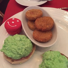 Green Eggs and Ham at the Dr. Seuss Breakfast on Liberty