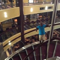 Miami, Florida - Lobby stairs