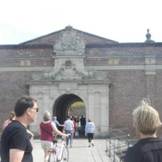 Copenhagen, Denmark - Castle entrance