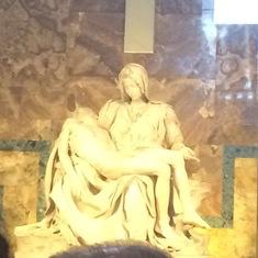 Civitavecchia (Rome), Italy - The Pieta-St. Peter's Basillica Vatican City