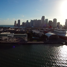 Miami, Florida - Downtown Miami and Seaport