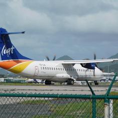 Philipsburg, St. Maarten - LIAT Dash 8