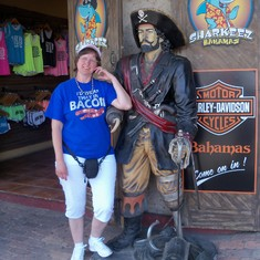 Nassau, Bahamas - My other new boyfriend.