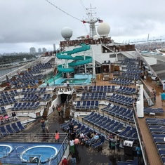 Lido Deck where the action is