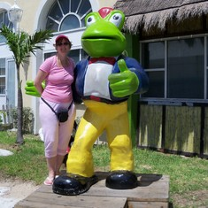 Senor Frog's in Nassau.