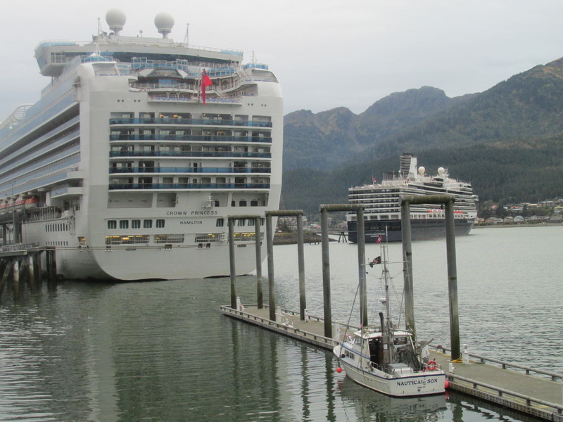 Heading back to the ship. - Crown Princess