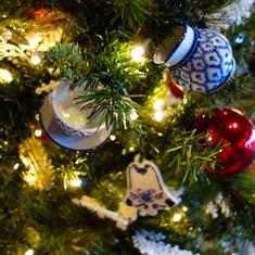 Christmas Decorations on ms Rotterdam