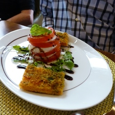 Celebrity Constellation - Salad in Tuscan Grill