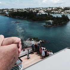 Hamilton, Bermuda - Entering Hamilton harbor