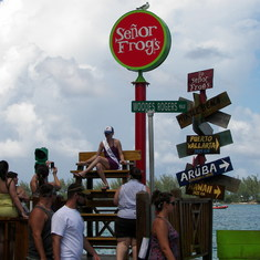 Nassau, Bahamas - Going over to Senor Frogs