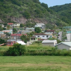 Basseterre, St. Kitts - Some houses along the way