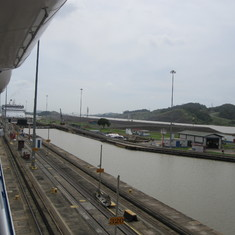 Exiting Pedro Miguel Locks.