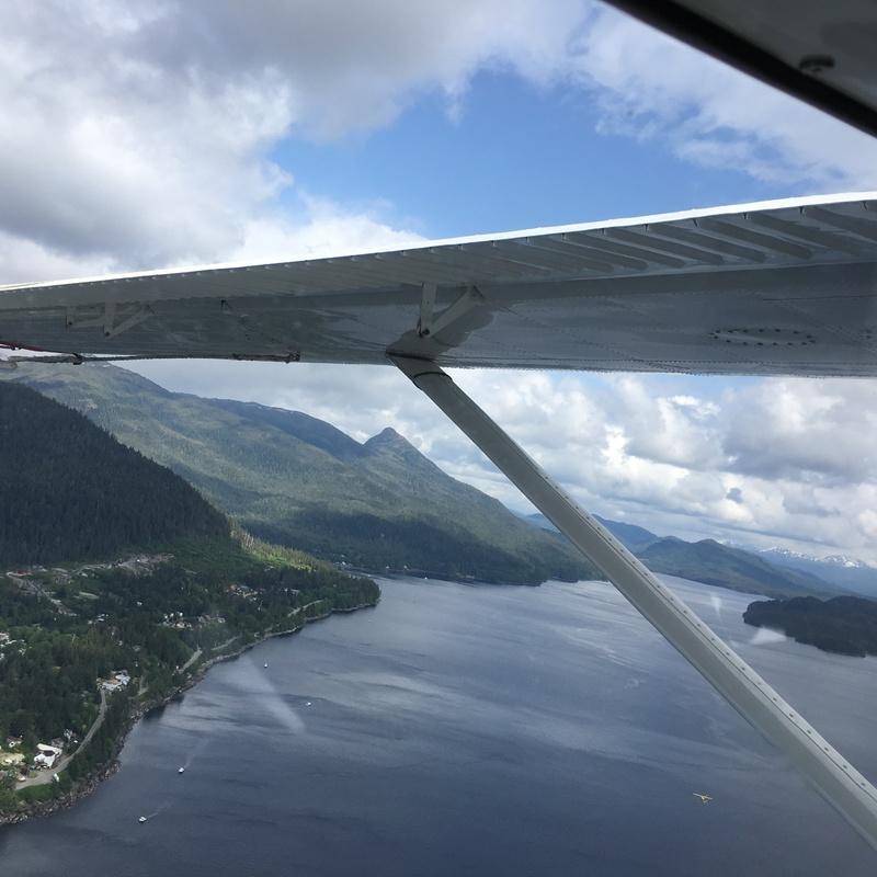 View from seaplane - Zaandam