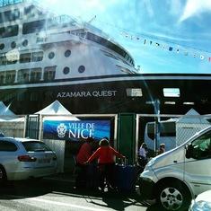 Nice, France - Ship in Nice