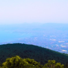 Mt.Vesuvius View to Naples