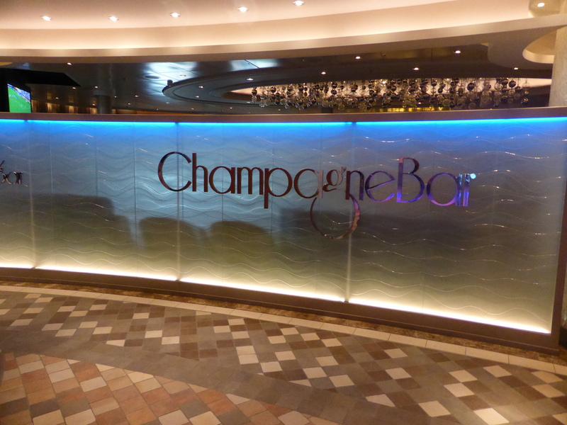Champagne Bar - Allure of the Seas