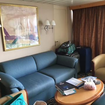 Grand Suite with Balcony on Grandeur of the Seas