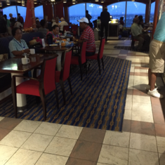 The Grand Buffet on Carnival Glory