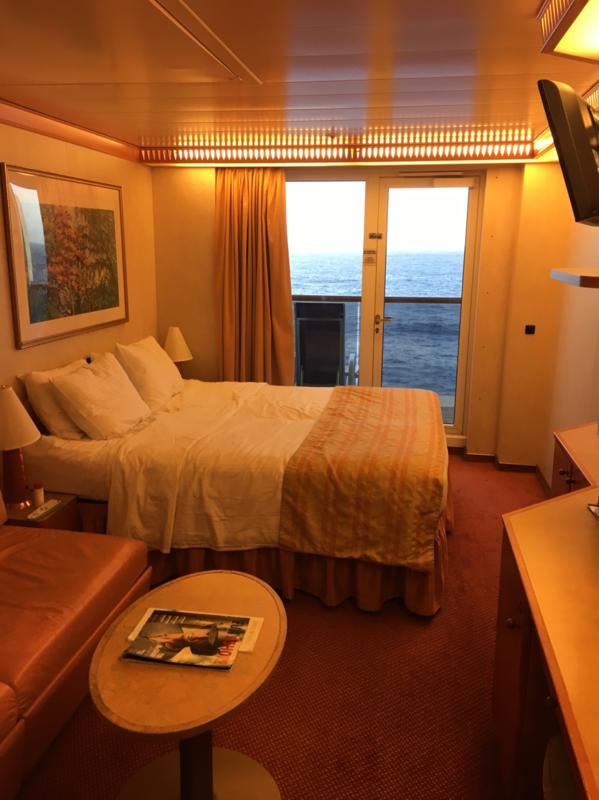 Balcony Cabin 7191 On Carnival Miracle Category 8k