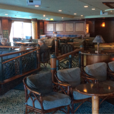 Nightclub on Pacific Princess