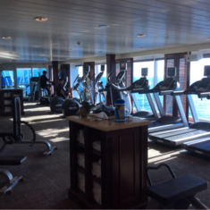 Gymnasium on Pacific Princess