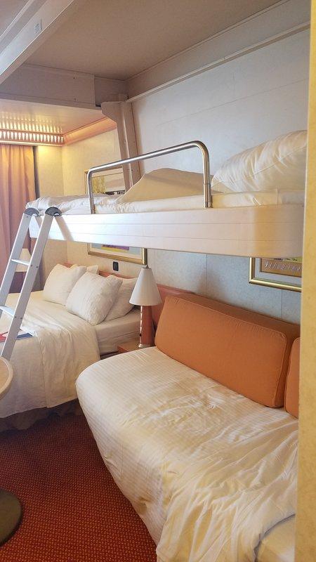 Balcony Cabin 9274 On Carnival Liberty Category 8e