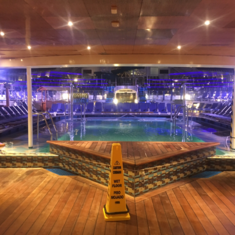 Versailles Pool on Carnival Liberty