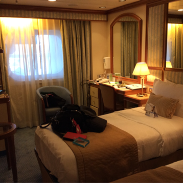 Oceanview Stateroom (Obstructed View) on Grand Princess