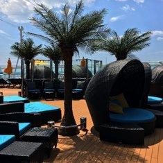 Serenity Bar on Carnival Vista