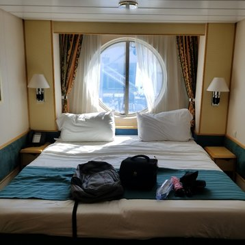 Oceanview Stateroom on Liberty of the Seas