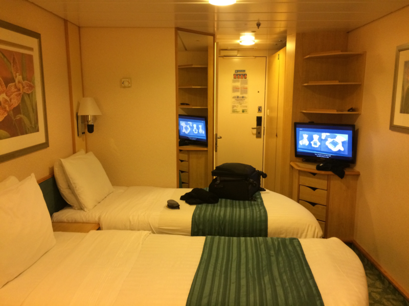 Inside cabin 6581 on mariner of the seas category we - Mariner of the seas interior stateroom ...