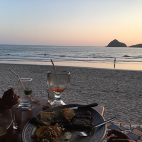 Poncho's on the beach Mazatlan
