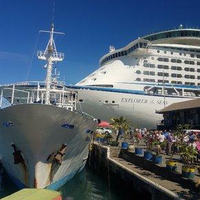 Docked in Lautoka, Fiji